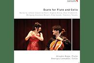 Atsuko Koga, Georgiy Lomakov - Duets For Flute And Cello [CD]