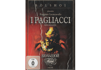 The Bolshoi Theatre Orchestra - Bolshoi presents - Ruggiero Leoncavallo - I Pagliacci  - (DVD)
