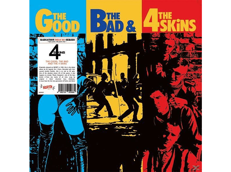 The 4-skins - The Good, The Bad & The 4 Skins [Vinyl]