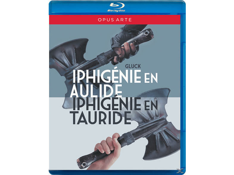 Minkowski/Les Musiciens Du Luv, Minkowski/Gens/Haller/von Otter - Iphigenie En Aulide/Iphigenie En Tauride [Blu-ray]