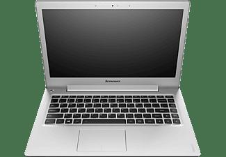 LENOVO U330p Notebook, Notebook mit 13,3 Zoll Display, Core i5 Prozessor, 4 GB RAM, 500 GB SSHD, 8 GB, Intel HD Graphics, Grau