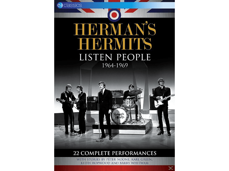 Herman's Hermits - Listen People 1964-1969 [DVD]