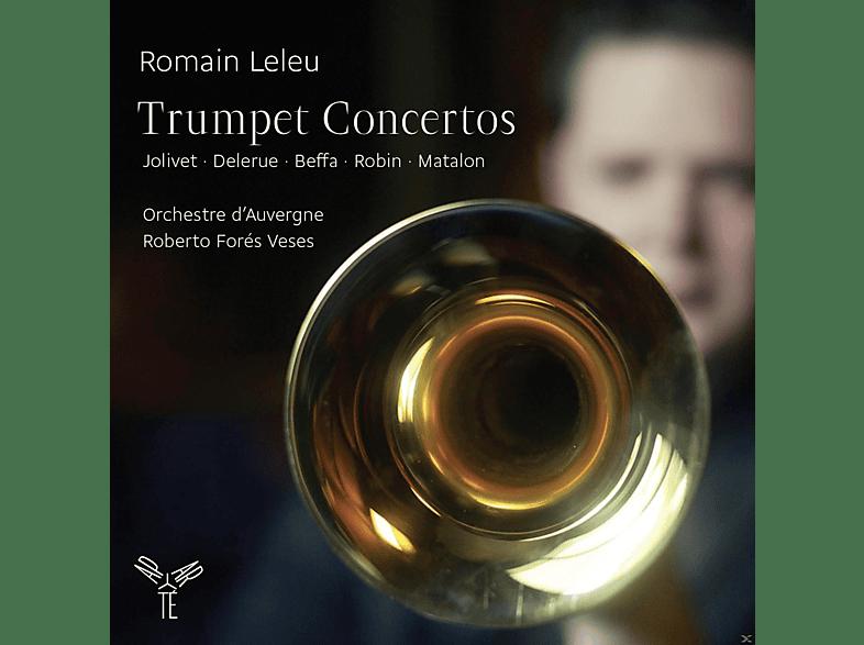Romain Leleu, Orchestre D'auvergne - Trompetenkonzerte [CD]