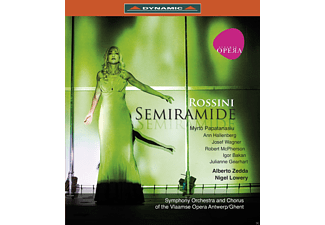 VARIOUS, Symphony Orchestra & Chorus Of The Vlaamse Opera Antwerp - Semiramide  - (Blu-ray)
