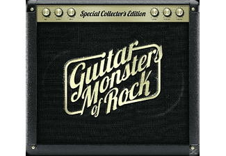 VARIOUS - Guitar Monsters Of Rock  - (CD)
