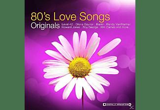 VARIOUS - Originals-80's Love Songs  - (CD)