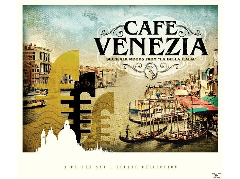 VARIOUS - Cafe Venezia Trilogy [CD]