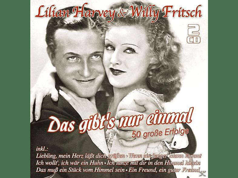 Willy Fritsch, Lilian Harvey - Das Gibt's Nur Einmal-50 Große Erfolge [CD]