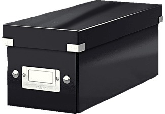 LEITZ 6041-00-95 CLICK&STORE CD Aufbewahrungsbox Aufbewahrungsbox, Schwarz
