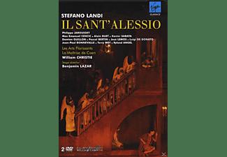 La Maitrise De Caen, Les Arts Florissants, VARIOUS - Il Sant Alessio  - (DVD)