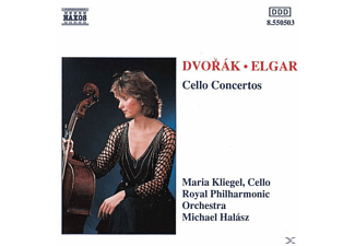 Maria Kliegel, Kliegel/Halasz/Royal Phil.Or. - Cellokonzerte - (CD)