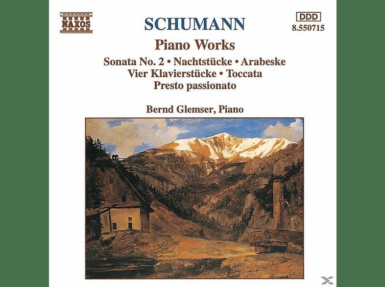 Bernd Glemser - Klav.Sonate 2/Nachtstücke/+ [CD]