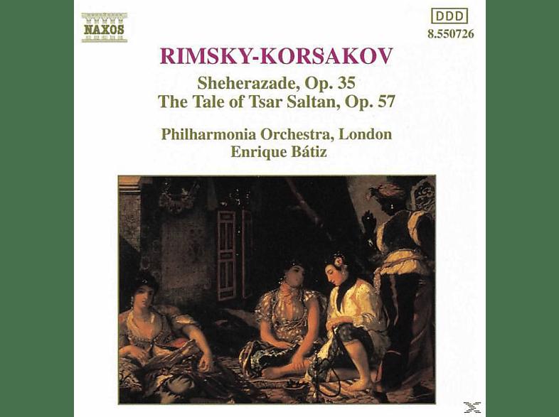 Philharmonia Orchestra London, Enrique/pol Batiz - Scheherazade/Zar Saltan [CD]