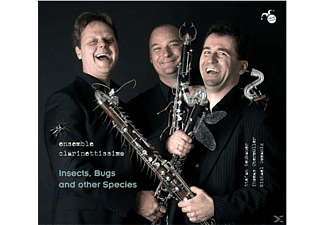Ensemble Clarinettissimo - Insects,Bugs and other Species - (CD)