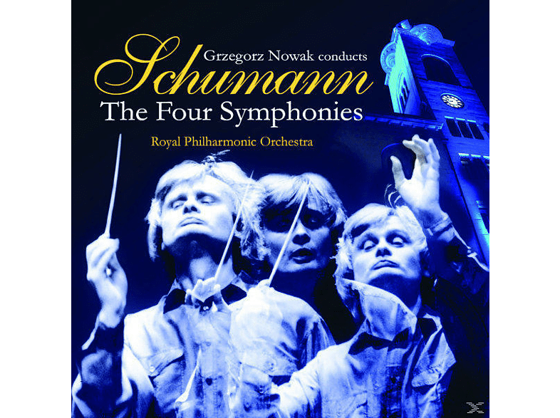 Grzegorz Nowak, Royal Philharmonic Orchestra, VARIOUS - Sinfonien 1-4 [CD]