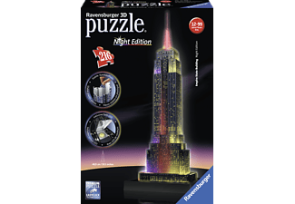 RAVENSBURGER Empire State Building bei Nacht 3D Puzzle Mehrfarbig
