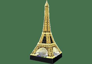 RAVENSBURGER Eiffelturm bei Nacht 3D Puzzle Gold