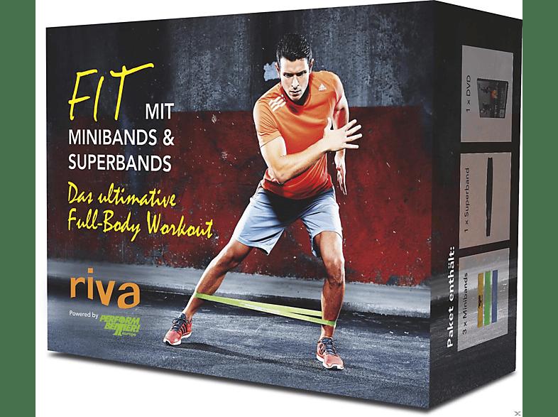 Fit mit Minibands & Superbands [DVD]