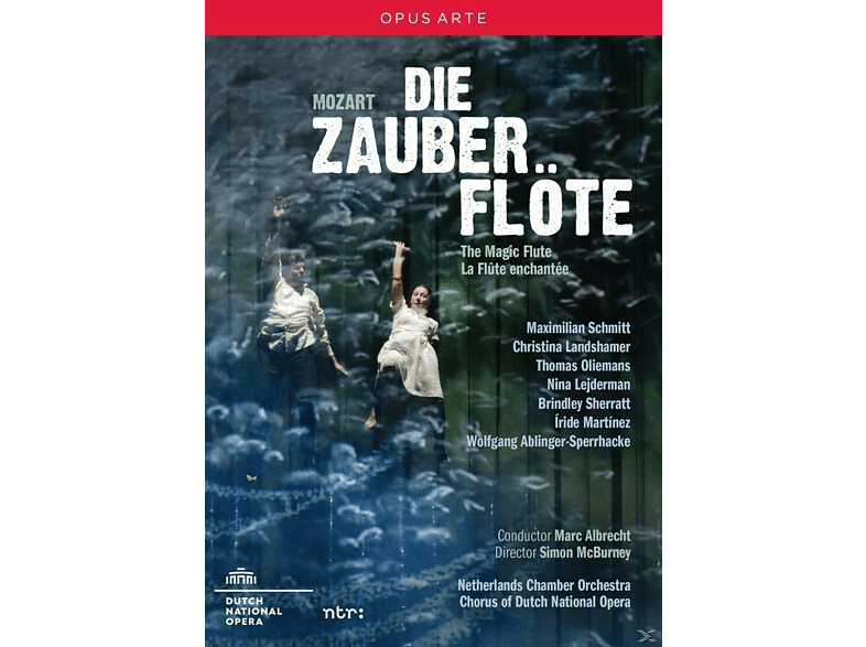 VARIOUS, Chorus Of The Dutch National Opera, Netherlands Chamber Orchestra - Die Zauberflöte [DVD]