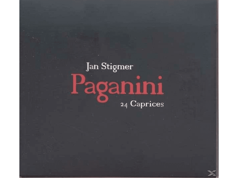 Jan Stigmer - 24 Caprices [CD]