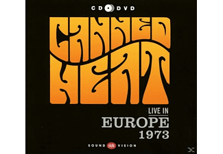 Canned Heat - Live In Europe 1973 (CD+DVD) - (CD + DVD Video)