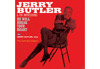 Jerry Butler - He Will Break Your Heart  - (CD)