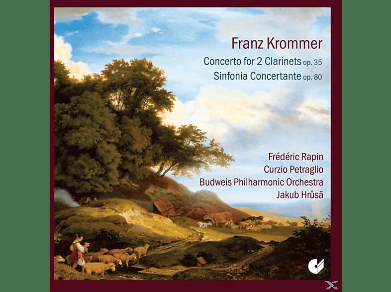 Budweis Philharmonic Orchestra - Hr - Konzert Für 2 Klarinetten Op.35/Sinfonia Concerta [CD]