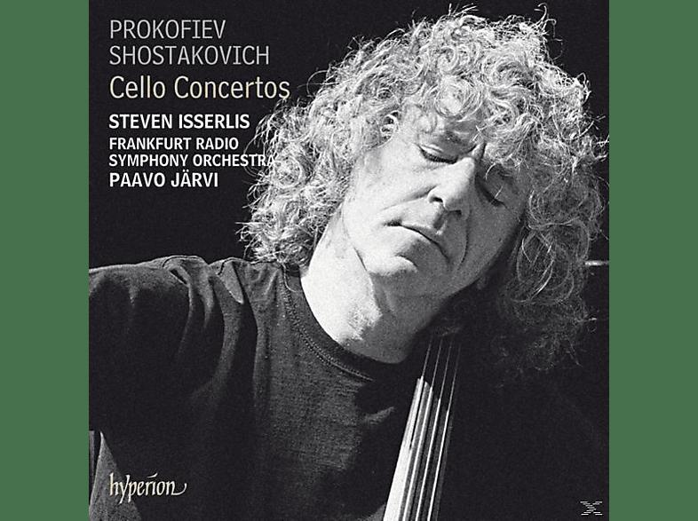 Steven Isserlis, Paavo Järvi, hr-Sinfonieorchester Frankfurt - Cellokonzerte Op.58 & 107 [CD]