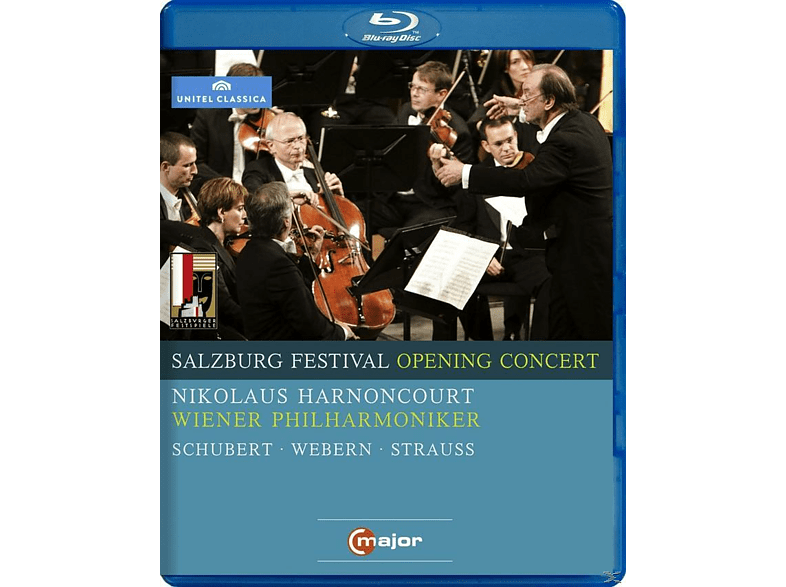 Harnoncourt/Wph - Salzburg Festival Opening Concert 2009 [Blu-ray]