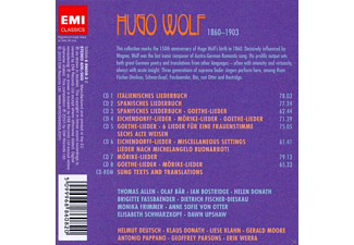VARIOUS - Hugo Wolf - The Anniversary Edition  - (CD)