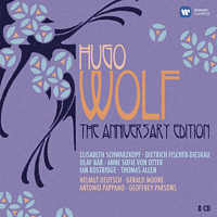 VARIOUS - Hugo Wolf - The Anniversary Edition [CD]