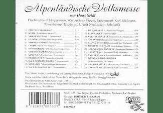 FISCHBACHAUER S. - Alpenländische Volksmesse  - (CD)