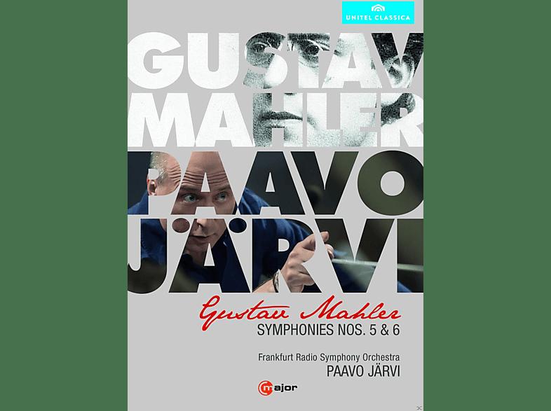Paavo/Rsof Järvi - Sinfonien 5 & 6 [DVD]