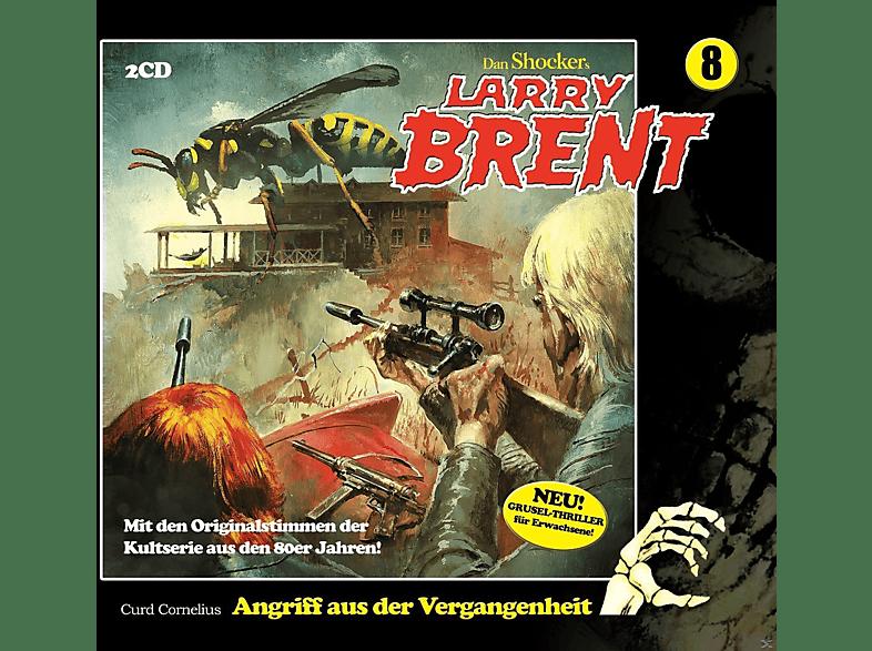 Larry Brent - Folge 08-Angriff Aus Der Vergangenheit - (CD)