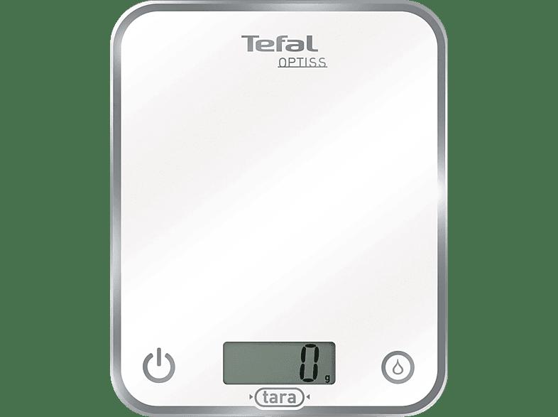 TEFAL BC 5000 Optiss Küchenwaage (Max. Tragkraft: 5 kg, Standwaage)