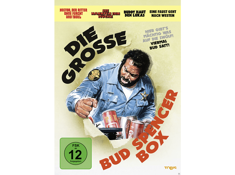 Die große Bud Spencer-Box [DVD]