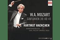 Hartmut/Kammerorchester C.P.E.Bach Haenchen - Sinfonien 39, 40, 41 [CD]