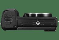 SONY Alpha 6000 KIT (ILCE-6000L) + Tasche + Speicherkarte Systemkamera 24.3 Megapixel mit Objektiv 16-50 mm , 7.5 cm Display  , WLAN