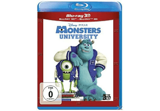 Die Monster Uni [3D Blu-ray (+2D)]