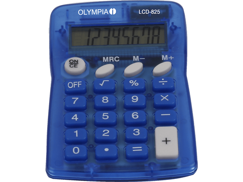 Olympia Taschenrechner LCD 825,Neu