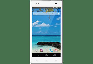 Móvil - Ingo, 4GB, 5 pulgadas, Dual SIM, red 3G, blanco