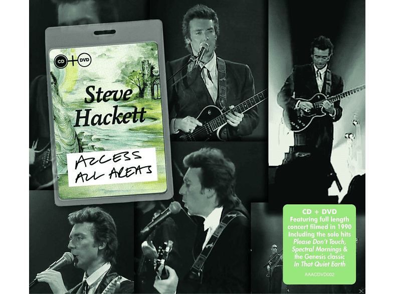 Hacket Steve - Access All Areas [CD]