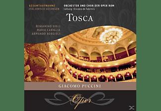 Maria Caniglia, Armando Borgioli, Orchester & Chor der Oper Rom, Beniamino Gigli - Tosca  - (CD)