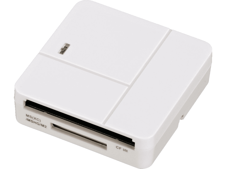 HAMA Basic Multikartenleser, Weiß