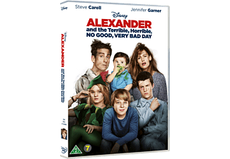 Alexander and the Terrible DVD