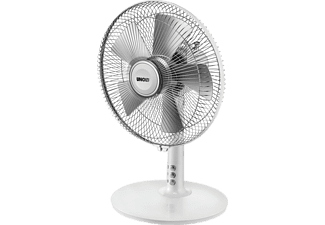 UNOLD 86810 Tischventilator Chrom/Silber matt/Weiß glänzend (25 Watt)