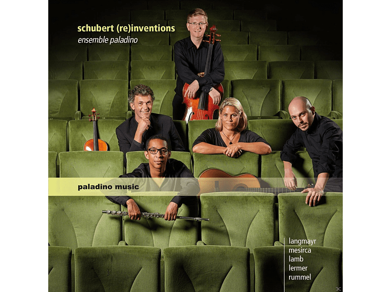 Ensemble Paladino - Schubert (Re)Inventions [CD]