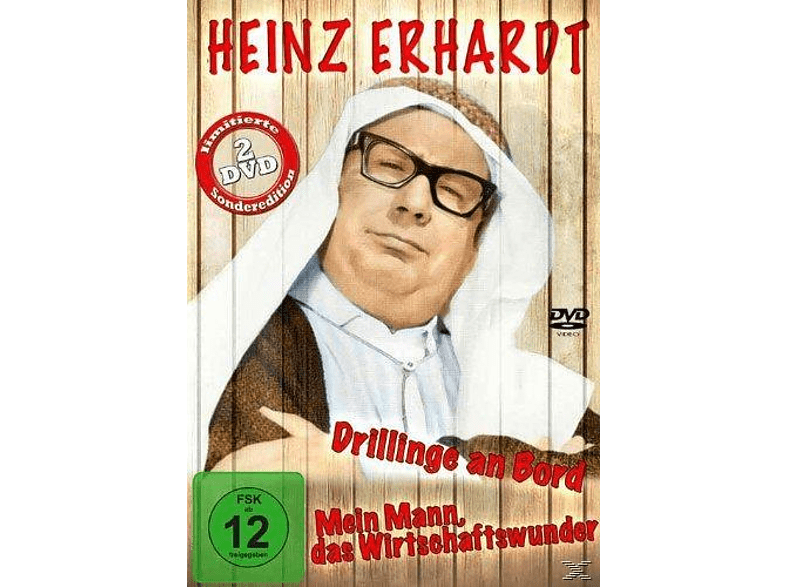 Heinz Erhardt - Drillinge an Bord [DVD]