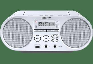 SONY ZS-PS50 Boombox CD Radio, Weiß