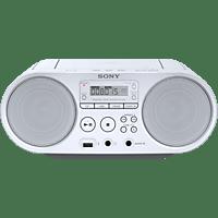 SONY ZS-PS50 Boombox CD Radio Weiß